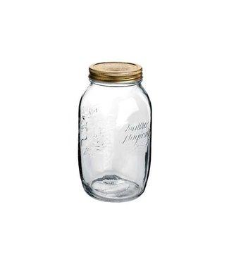 Bormioli Quattro Stagioni Jar 1,5l With Capsule (set of 6)