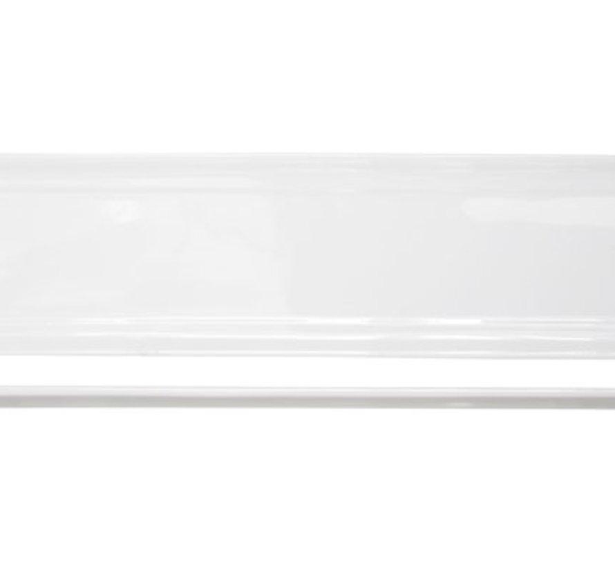 Kara Plat Bord 9x36,3cm Rechthoekig (set van 6)