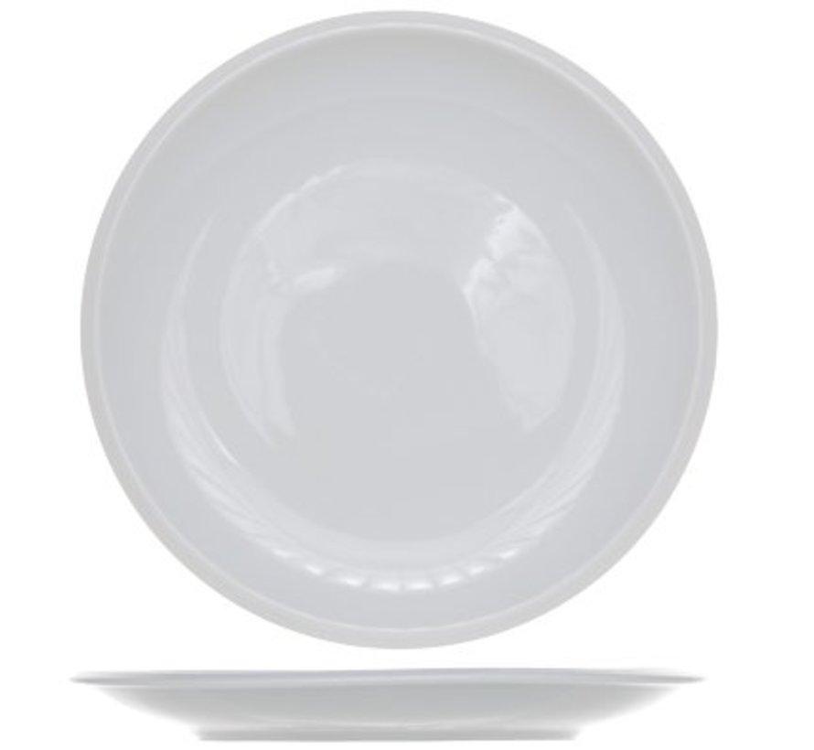 Pleasure White Dessertbord Set 6 20cm (set van 6)