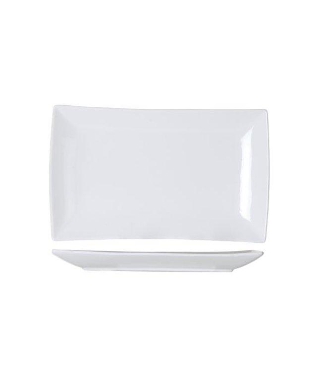 Cosy & Trendy Avantgarde - Dinerbord - 31,6x18,7xh2,7cm - Porselein - (Set van 6)