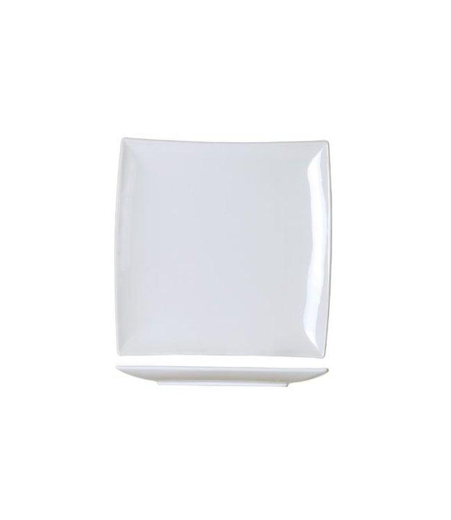 Cosy & Trendy Avantgarde - Dinerbord - 25,6x25,2xh2,7cm - Porselein - (Set van 6)