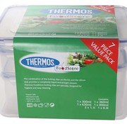 Thermos Airtight Set 7 St.  Vershouddoos1*9,3l, 2*1,1l,1*900ml,630ml,360ml,300ml