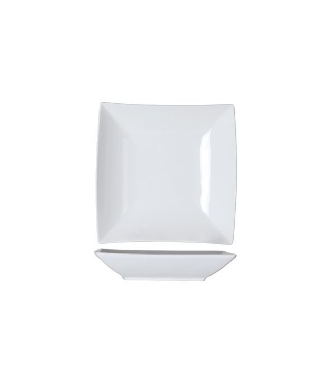 Cosy & Trendy Avantgarde - Diep Bord - 22,5x22,5cm - Porselein - (set van 6)