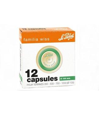 Le Parfait Familia Wiss - Capsules - D100mm - (Set van 24)