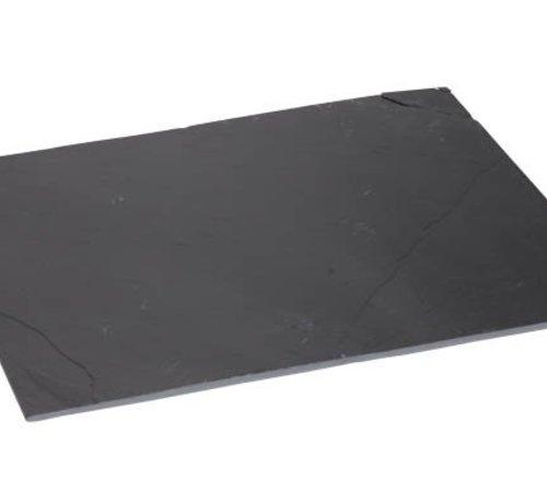 Cosy & Trendy Leisteen Bord 20x30xh0,5cm (set van 12)