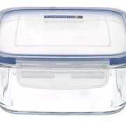 Luminarc Pure Box Doos 1220ml 15,6x15,6xh6,6cm Vierkant