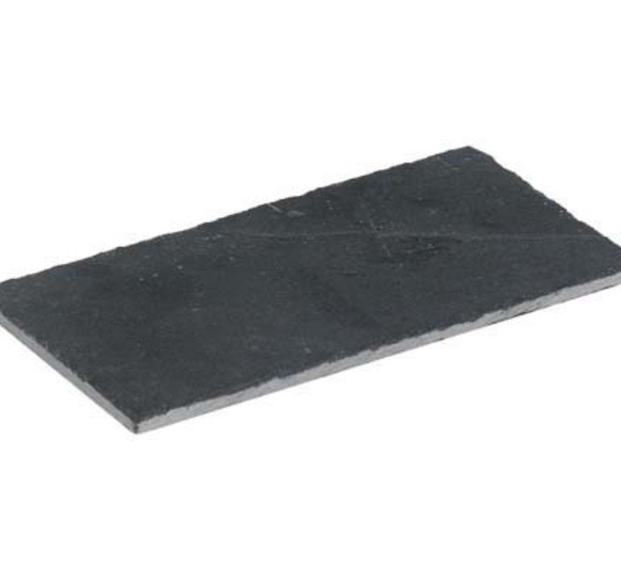 Leisteen Bordje 18x8x0,4cm Set2