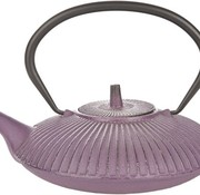 Cosy & Trendy Teapot Cast Iron 0,8l Umbrella Purplewith Filter Tsp65