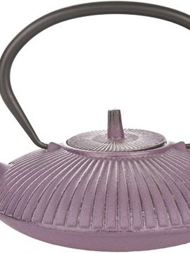 Cosy & Trendy Teapot Cast Iron 0,8l Umbrella Purplewith Filter Tsp65