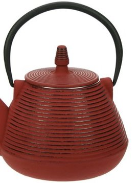 Cosy & Trendy Teapot Cast Iron 1l Nagoya Redwith Filter Tsp80