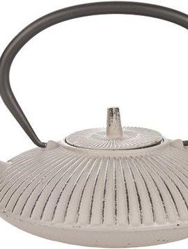 Cosy & Trendy Umbrella Br.grey Theepot Met Filter Tsp65 0,8l Gietijzer