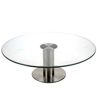 Cosy & Trendy Cake Dish On Foot Glass + Ss D30xh10