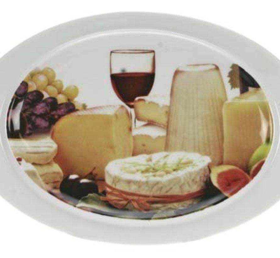 Cheese Kaasbord 25,5x17,5cm (set van 6)