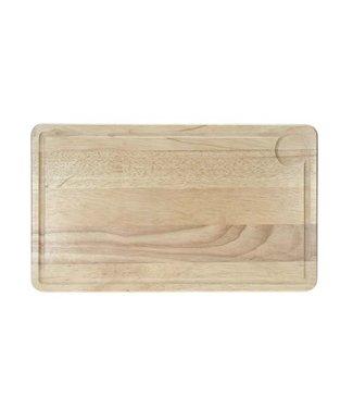 Cosy & Trendy Vleesplank 39x23x1,8cm Rechthoek Rubberwood