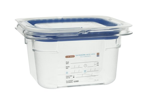 Araven Foodbox M.airtight Deksel Gn1-6 Transparant 1,5l 100mm