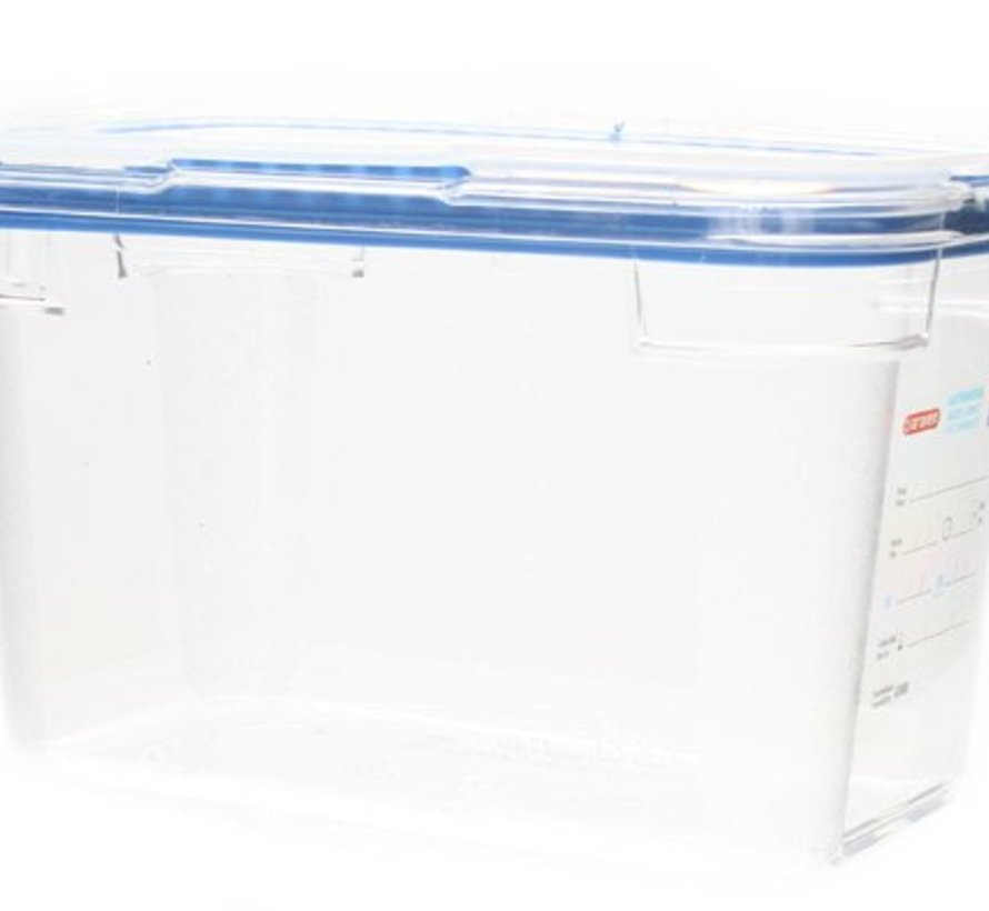 Foodbox M.airtight Deksel Gn1-4 Transparant 4,3l 150mm