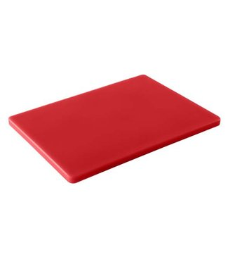 Cosy & Trendy For Professionals Ct Prof Cutting Board Gn 1/1 Red53x32xh1,5cm / For Raw Meat
