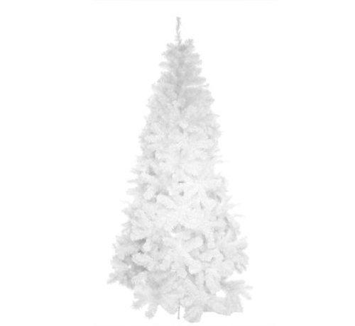 Cosy @ Home Baum Deluxe Noble Weiss 1,8m 720tipsvormont.- 7cm 0,12+0,12m - Fuss Metall