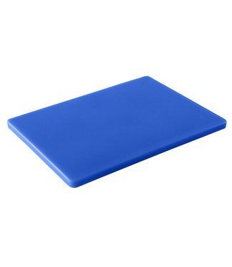 Cosy & Trendy Professionelles Schneidebrett - Fisch, Krebstiere und Schalentiere - 40x30x1,5cm - Blau - Kunststoff