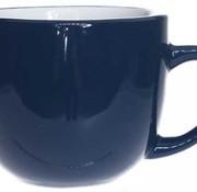 Cosy & Trendy Vince Blauw Tas D8,5xh7cm 24cl (set van 6)