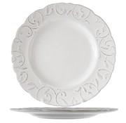 Cosy & Trendy Feston Vine Cream Dinner Plate 28cm+ Patine (set of 6)