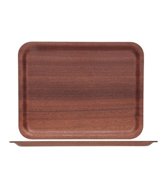 Cosy & Trendy For Professionals Ct Prof Rect. Tray Red Mahony 36x28