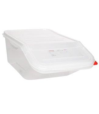 Araven Fifo Ingredient Box Gn1-1 23l H200mm