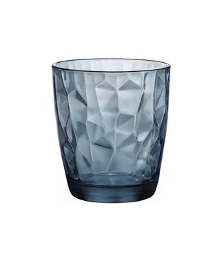 Bormioli Diamond Tumbler 30cl Ocean Blue (set van 6)