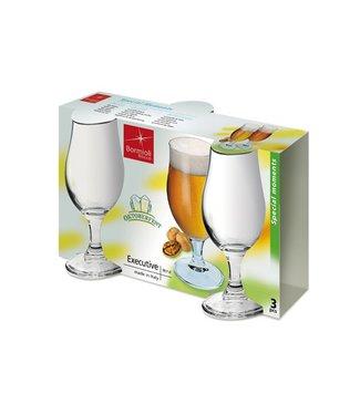 Bormioli Executive Beer Glass 37cl Set3 (set of 6)