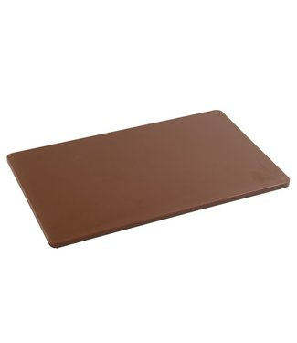 Cosy & Trendy For Professionals Ct Prof Cutting Board Gn 1/1 Brown53x32xh1,5cm - Cooked Meat