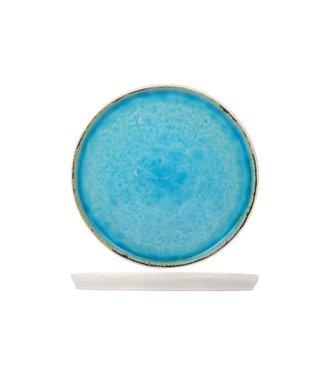 Cosy & Trendy Platos de Postre 'Laguna Azzurro' 21,5 cm  - Ceramica - (Juego de6)