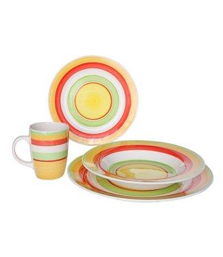Cosy & Trendy Nimes - Tableware - Set 16-Piece - Ceramic