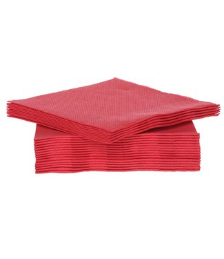 Cosy & Trendy For Professionals Ct Prof Napkin Tt S40 25x25cm Redpaper Textile-touch