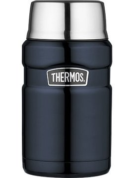 Thermos King Food Jar  Glossy Blau Gross 710ml
