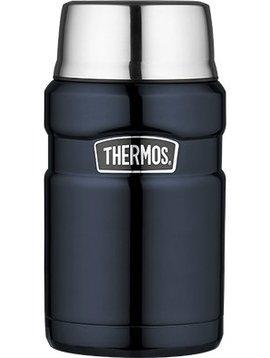 Thermos Kingfood Jar  Glossy Blue Big 710ml