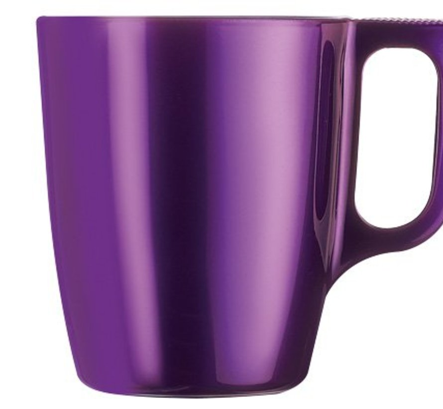 Flashy Colors Mug Paars 25cl (set van 6)