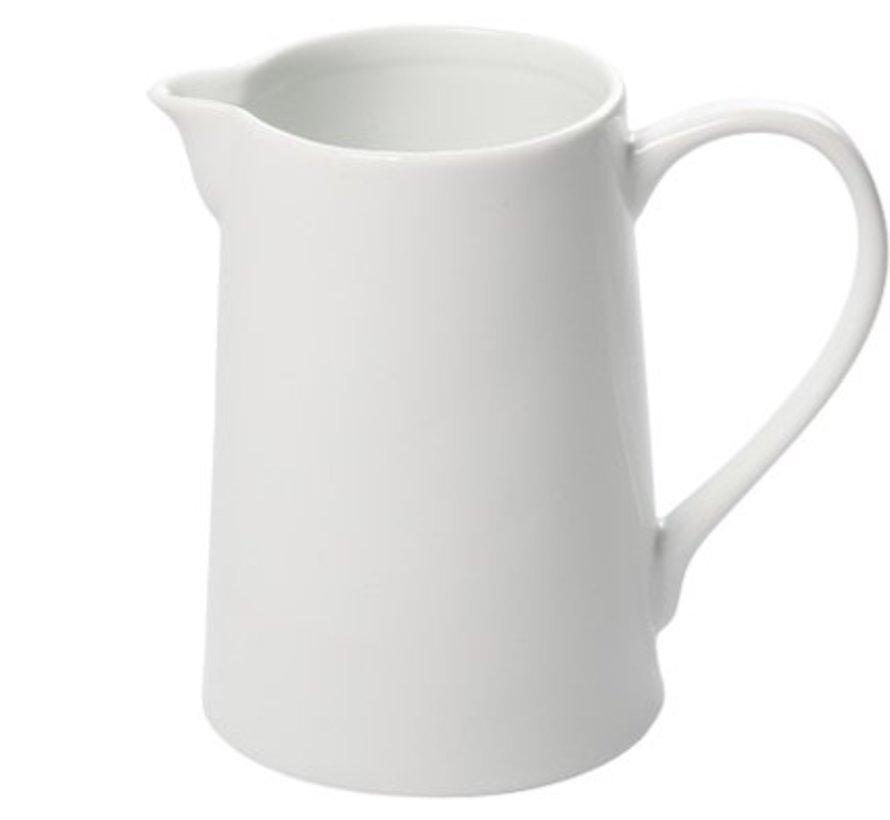Krug White 0.75l D10.3-8.7xh14.3cmporzellan