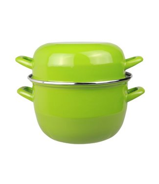 Cosy & Trendy For Professionals Horeca Mosselpot 2kg Groen Nieuw 3,250ld20cm (set van 6)
