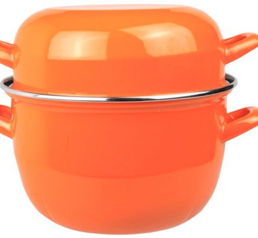 Muscheltopf D20cm Orange-neu-2kg3,250 L (6er Set)