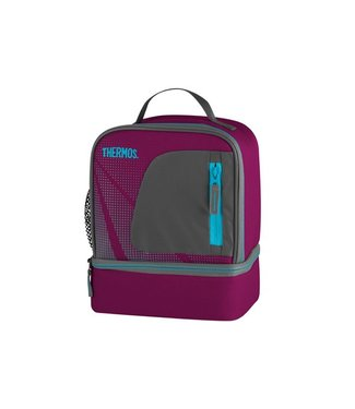 Thermos Radiance Dual Compartment Lunch Kit Pink