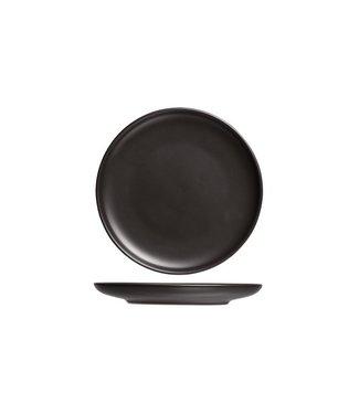 Cosy & Trendy Okinawa Black Plate D19xh1.8cm (set of 6)
