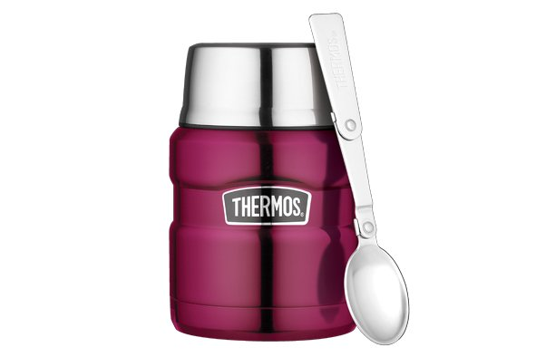 Thermos King Voedseldrager Framboos 470ml