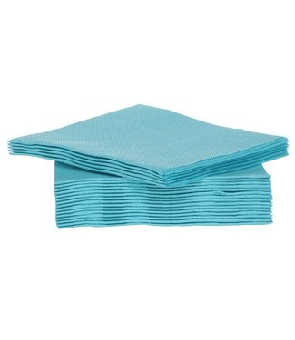 Cosy & Trendy For Professionals Ct Prof Napkin Tt S40 25x25cm Turquoisepaper Textile-touch