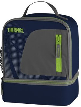 Thermos Radiance Dual Compartment Lunch Kit Blau