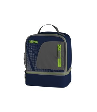 Thermos Radiance Dual Compartment Lunchkit Blauw