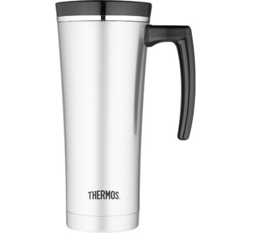 Thermos Premium Travel Mug 470ml Inox Zwart