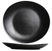 Cosy & Trendy Vongola Black Plat Bord 28x25.5cm (set van 4)