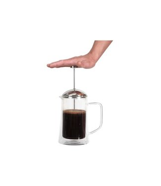 Cosy & Trendy Isolate Koffiekan 1l D10,5xh23,5cm Dubbelwandig Glas French Press