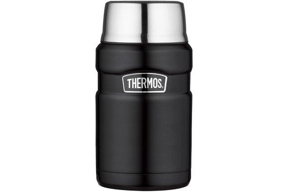 Thermos King Voedseldrager Xl Zwart Mat 710mlsk3020