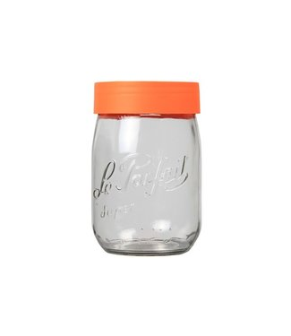Le Parfait Jar With Screw Lid - 1 Liter - (set of 12)
